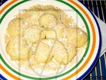Twarogowe owocowe knedle