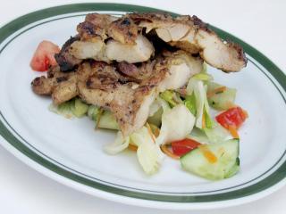 Pikantne udka z kurczaka z grilla