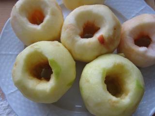 Przygotowanie jabłek