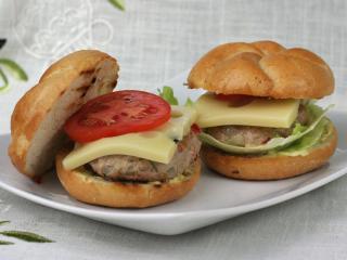 Hamburgery wieprzowe