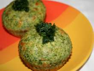 Szpinakowe muffinki