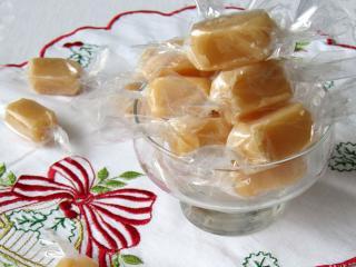 Miodowe karmelowe cukierki