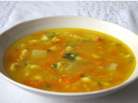 Jesienna warzywna zupa
