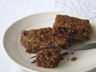 Czekoladowo - orzechowe ciasteczka z ciecierzycą