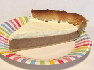 Kasztanowe kremowe ciasto
