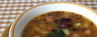 Zupy z roślin strączkowych