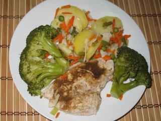 Proste piersi z kurczaka z brokułami