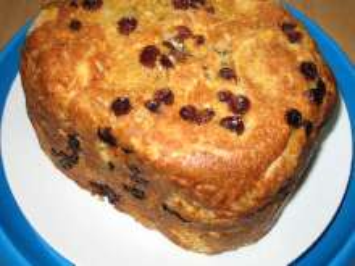 Słodka bułka z domowej piekarni