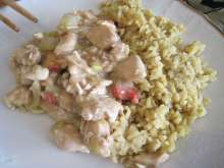 Drobiowe saute z ostrygowym sosem