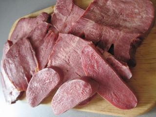 Gotowanie wołowego ozora