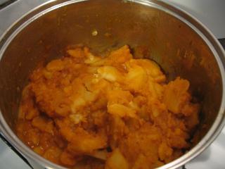 Duszone paprykowe ziemniaki