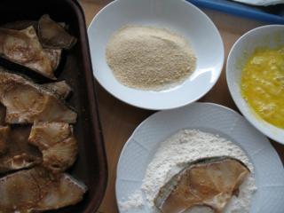 2. możliwość przygotowania : Smażenie w głębokim oleju marynowanych steków z rekina