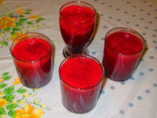 Jabłkowo ćwikłowy sok
