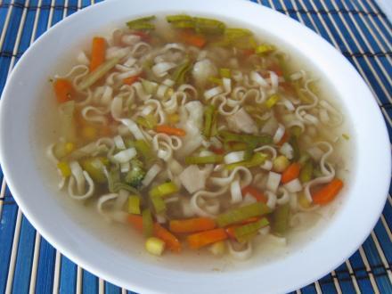 Wiosenna chińska zupa