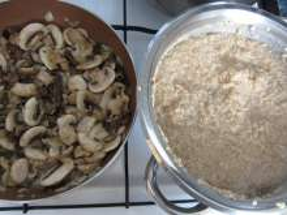 Przygotowanie grzybów