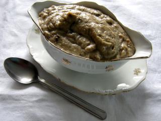 Pikantna pasta z bakłażana