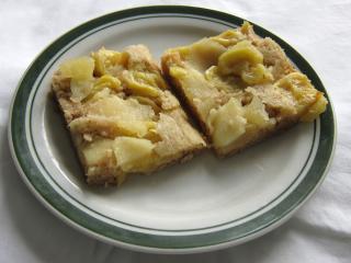 Cukiniowo - jabłkowe ciasto