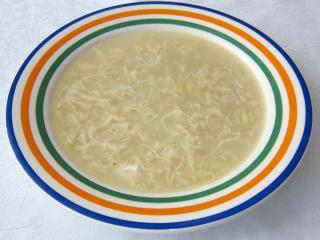Zasmażana zupa jajeczna