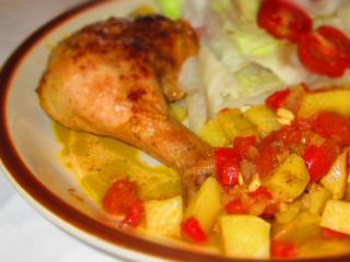 Kurczak na hiszpański sposób