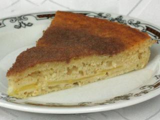 Francuskie jabłkowe ciasto