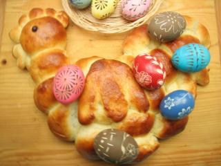 Wielkanocny kogucik