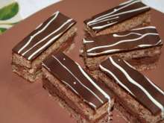 Czekoladowo - orzechowe ciasto