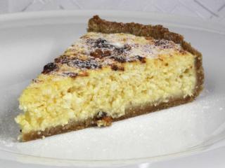 Ciasto miodowo twarogowe