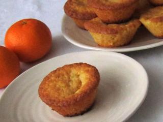 Mandarynkowe muffiny
