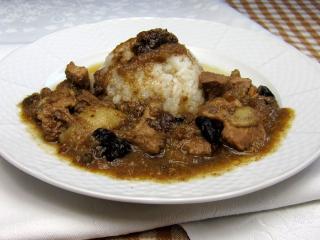 Wieprzowe mięso na słodko