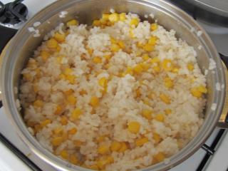 Ryż z kukurydzą