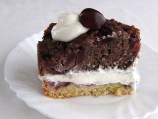 Czereśniowy tort