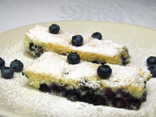 Borówkowe ciasto