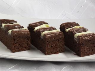 Kremowe kakaowe ciasto