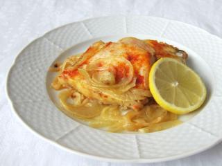 Filety rybne na cebuli