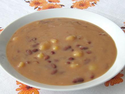 Słodko - kwaśna zupa fasolowa
