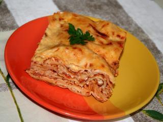 Lasagne z delikatnym beszamelem