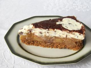 Tort jabłkowo-mascarpone bez pieczenia