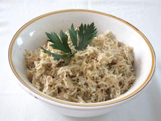 Selerowa sałatka z koniakiem