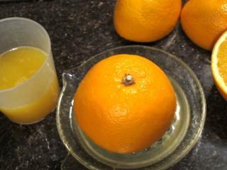 Pomarańczowy krem