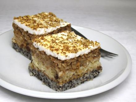 Świąteczne ryżowe ciasto