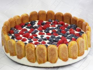 Twarogowy tort bez pieczenia