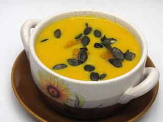 Śmietanowa zupa Hokkaido