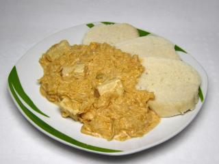 Tofu z kiszoną kapustą