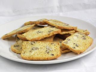 Chrupiący chleb z białek