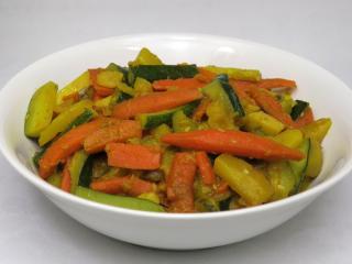 Warzywne subji z cukinią