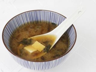 Miso zupa z tofu