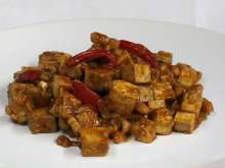 Tofu z fasolą