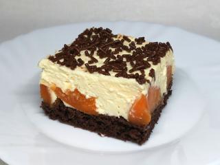 Twarogowo-morelowe ciasto