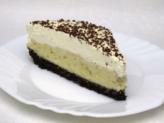 Rabarbarowe kremowe ciasto
