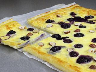 Ciasto z borówkami i mascarpone